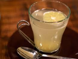 Hot Lemon Honey Ginger