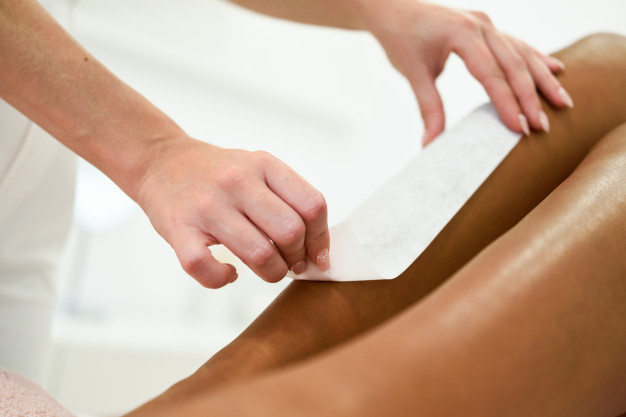 It is important to choose right place to wax your body.  It takes very long time to heal once skin is damagd.